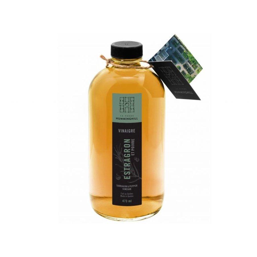 Vinaigre -Basilic & Citron   La Ferme Humminghill 473ml