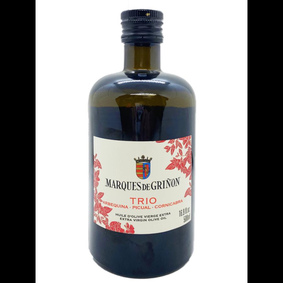 Huile d'olive extra vierge | Trio ( Arbequina-Picual-Cornicabra) | Marques de Grinon | 500 ml