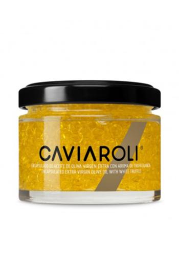 Perles d'huile d'olive Caviaroli extra vierge nature (Arbequina)   Caviaroli  50g