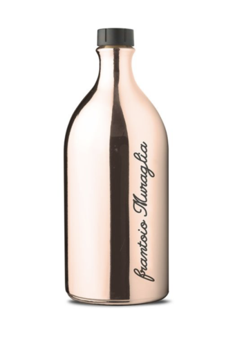 Huile d'olive  extra vierge bouteille verre rose Gold Muraglia 500 ml