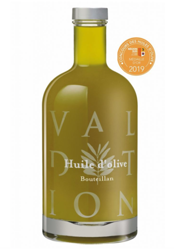 Domaine de Valdition  |huile d'olive extra vierge  monovariété  Boueillan Vallée des Baux-de Provence 750 ml