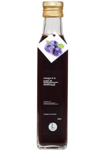 Vinaigre à la pulpe de myrtille | Libeluile | 250ml