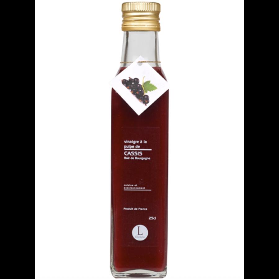 Vinaigre à la pulpe de cassis noir de Bourgogne | Libeluile | 250ml