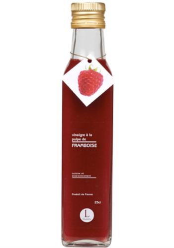 Vinaigre à la pulpe de framboise  | Libeluile | 250ml