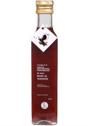 Vinaigre à la pulpe de framboise et baies de Tasmanie  | Libeluile | 250ml