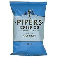 Croustilles sel de mer  | Pipers |150g