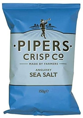 Croustilles sel de mer    Pipers  150g