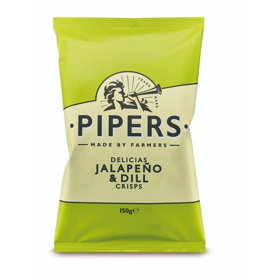 Croustille Lime et jalapenos    Pipers  150g