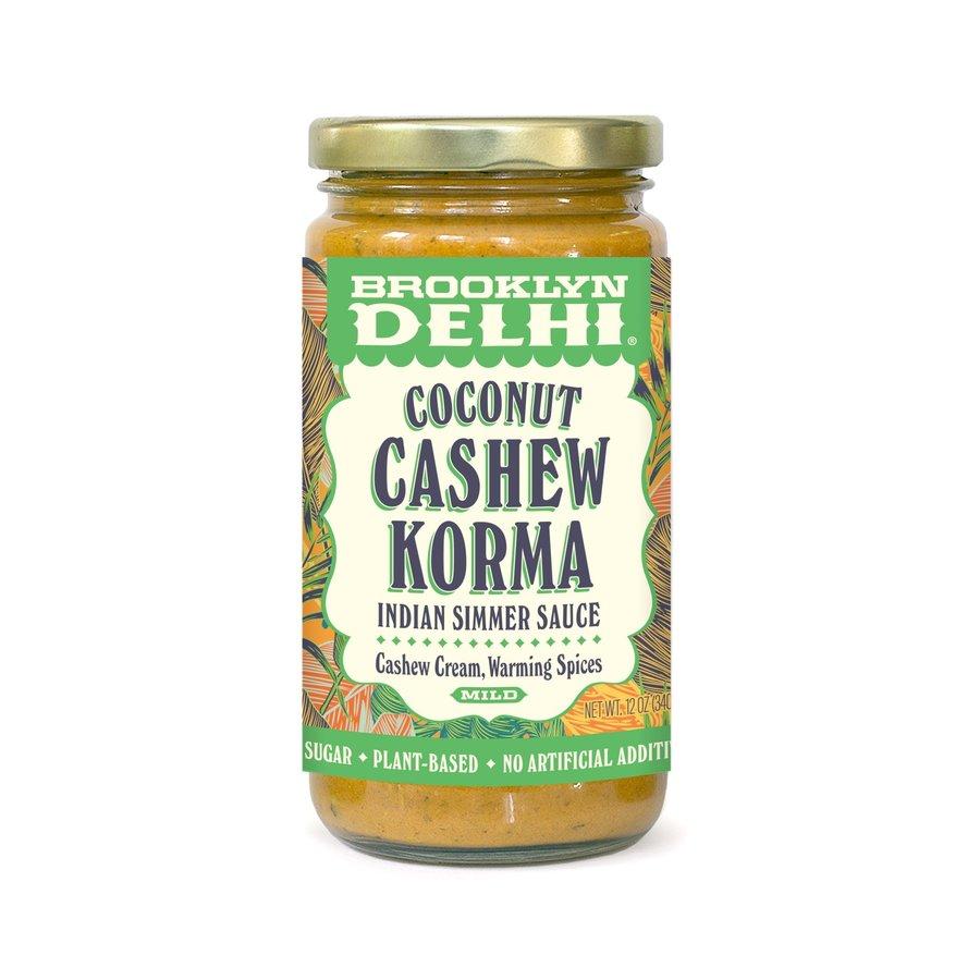 Korma au Cashew & noix de coco  (doux) | Brooklyn Delhi |340g