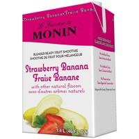 Smoothie pour Mélangeur | Fraise-Banane | Monin | 1.4L