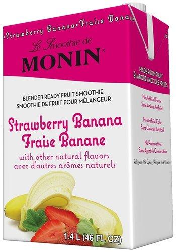 Smoothie pour Mélangeur   Fraise-Banane   Monin   1.4L
