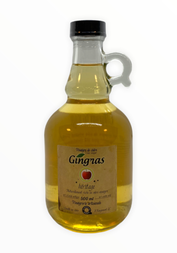 Vinaigre de cidre Heritage | Gingras |500ml