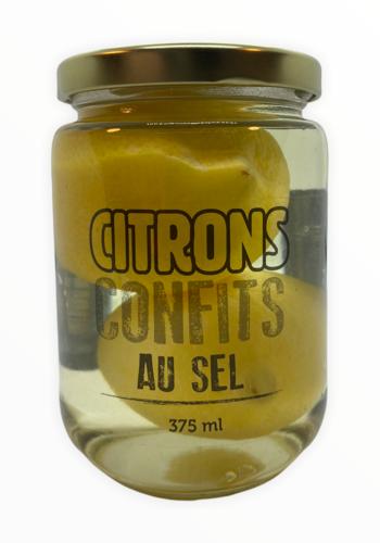 Citrons confits entier  375ML | Délice de lÎle d'Orléans