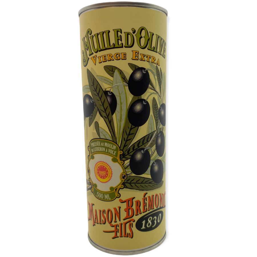Extra virgin olive oil   Ripe Fruity   Brémond   500 ml