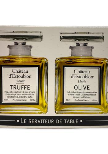 Coffret Duo | Le Serviteur de Table | Château Estoublon | 2 x 50 ml