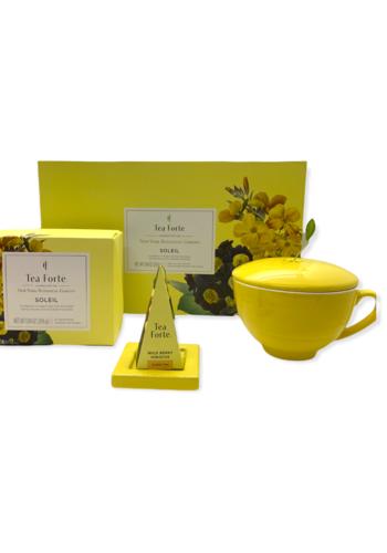 Coffret  Soleil | Tea Forte | Thé-tasse-sous sachet