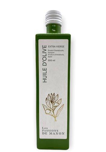 Huile d'olive Arbequina Les Passions de Manon - 500 ml