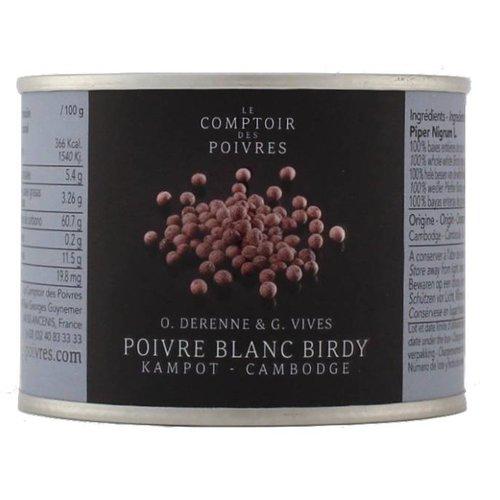 Le Comptoir des Poivres White Birdy Cambodian Peppercorns - 80g