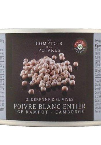 Poivre blanc IGP Kampot - Cambodge 80g