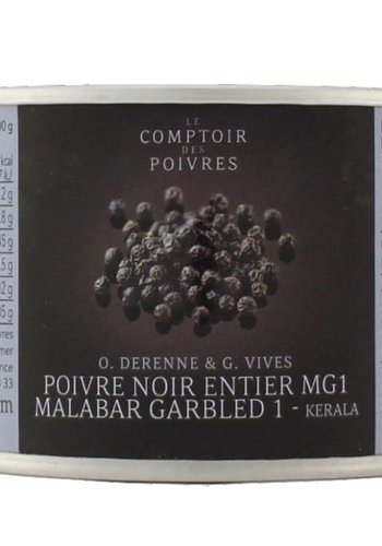 Poivre noir entier MG1 Malabar 80gr