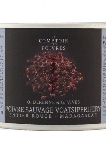Wild red Voatsiperifery peppercorns - Madagascar 80g
