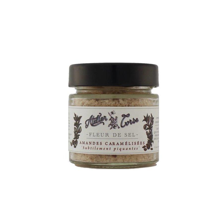 Atelier Corse Caramelized Almonds Sea Salt 90 gr