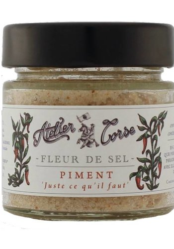 Atelier Corse Pepper Sea Salt 90 gr