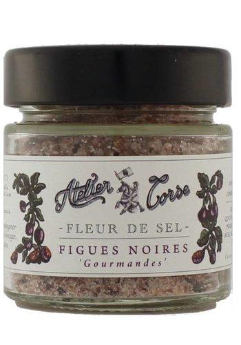 Fleur de sel aux figues noires Atelier Corse 90 gr