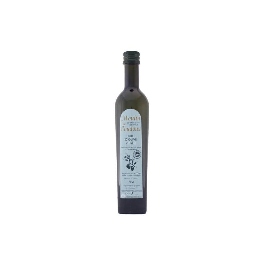Huile d'olive vierge Moulin Coudoux  500 ml