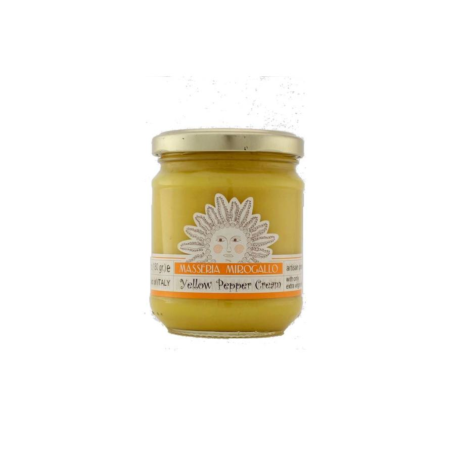 Masseria Mirogallo Yellow Pepper Spread 180g