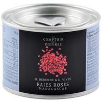 Baies roses entières de Madagascar Le Comptoir des Poivres 40g