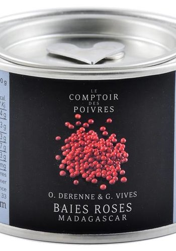 Le Comptoir des Poivres Dehydrated Pink Madagascar Berries  40g
