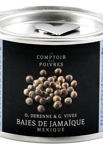 Baies ou piments jamaicain du Mexique Le Comptoir des Poivres - 60g