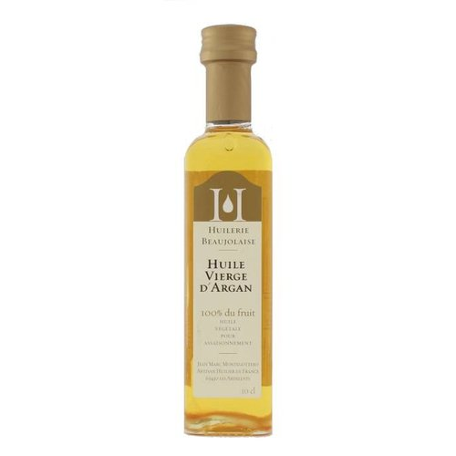 Huile vierge d'argan Huilerie Beaujolaise 100 ml