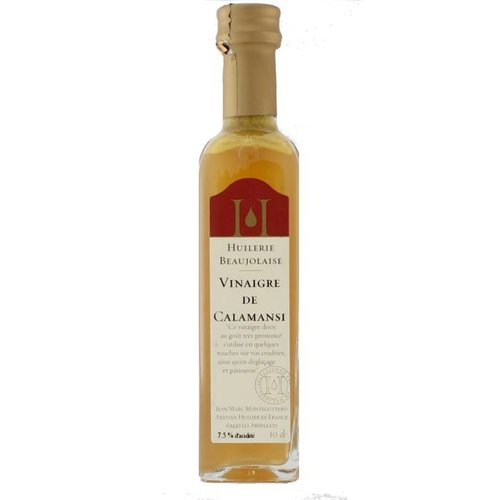Huilerie Beaujolaise Calamansi Lemon Vinegar 100 ml