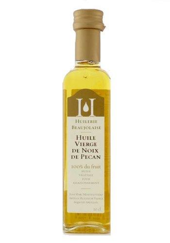 Huile vierge de noix de pacane Huilerie Beaujolaise 100 ml