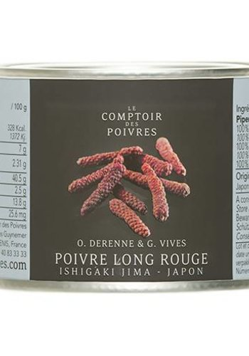 Poivre long rouge Ishigaki Jima - Japon 50g