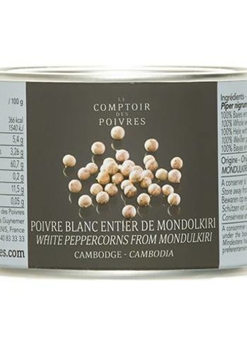 White peppercorns from Mondulkiri - Cambodia 80g