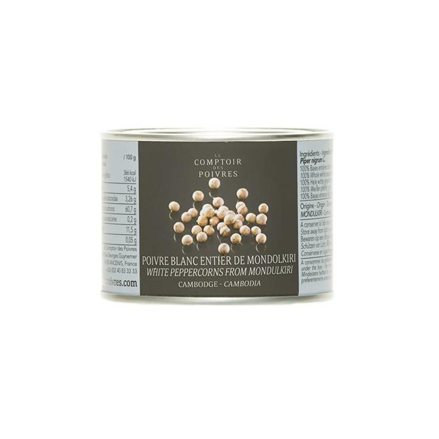 White peppercorns from Mondulkiri