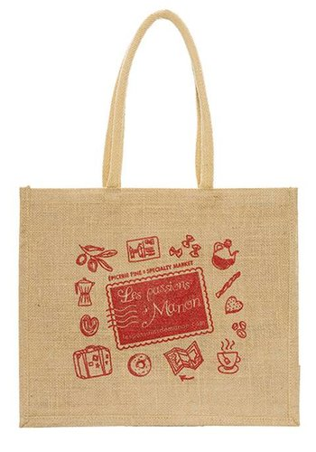 Recyclable jute bag - Les Passions de Manon