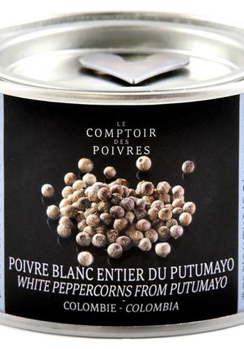 White peppercorns from Putumayo - Colombia 80g