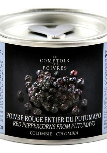 Red peppercorns Putumayo - Colombia 80g