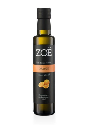 ZOË Orange Infused Extra Virgin Olive Oil 250 ml
