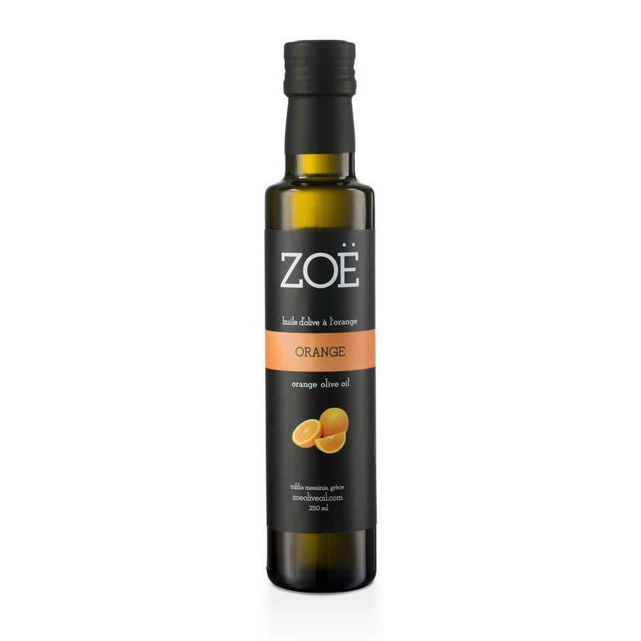 Huile extra-vierge ZOË infusée à l'orange 250 ml