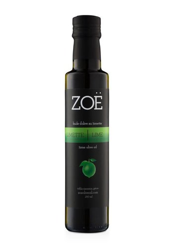 ZOË Lime Infused Extra Virgin Olive Oil 250 ml