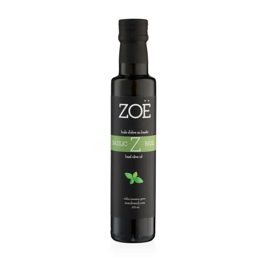 ZOË Basil Infused Extra Virgin Olive Oil 250ml