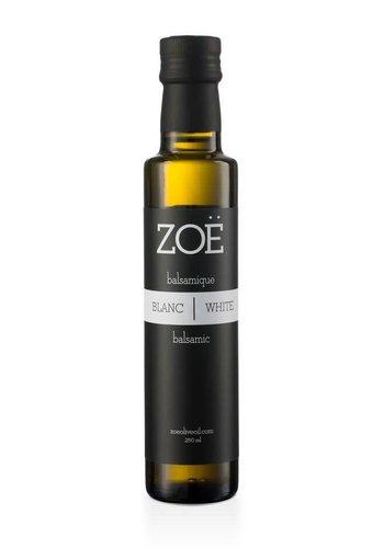 Vinaigre balsamique blanc ZOË 250 ml