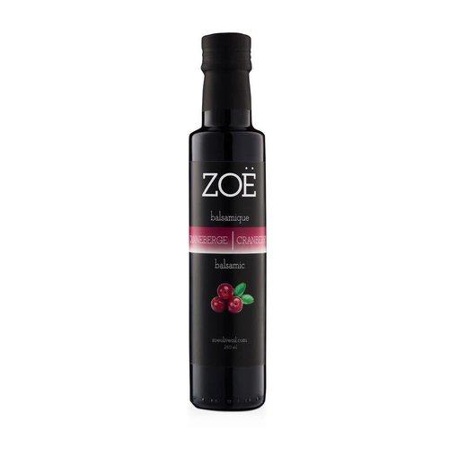 ZOË Cranberry Infused Balsamic Vinegar 250 ml