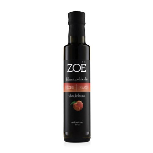 ZOË Peach infused Balsamic Vinegar  250 ml