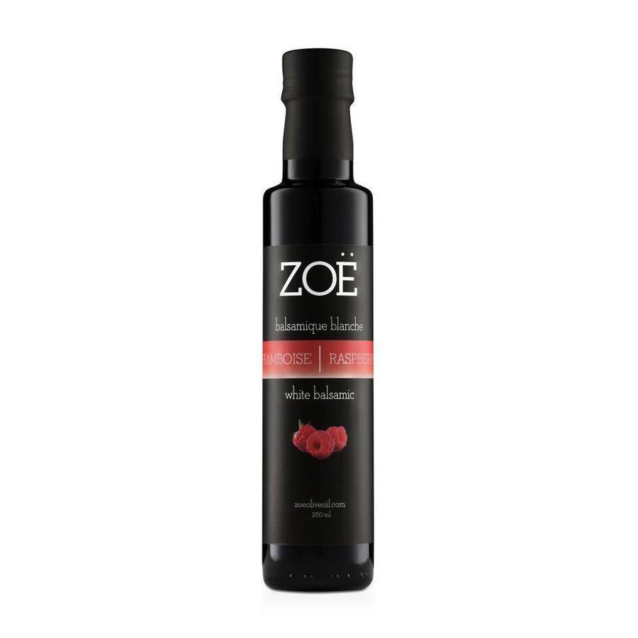 Vinaigre balsamique ZOË  infusé  à la framboise 250 ml